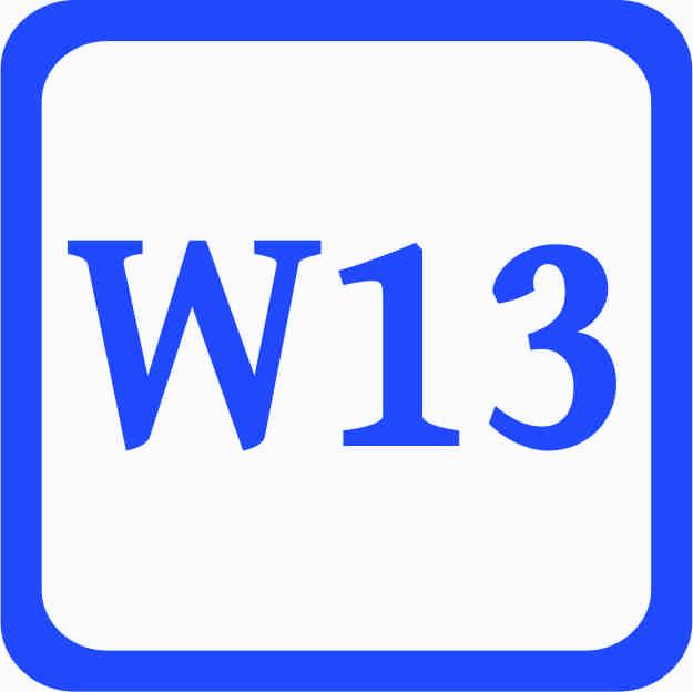 S2 - Sonderweite W13