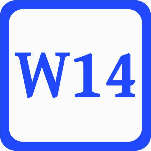 S1 - Sonderweite W14