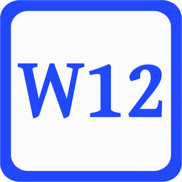 S3 - Sonderweite W12