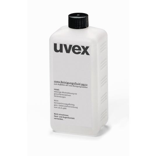 uvex Reinigungsfluid 0,5 l für Station
