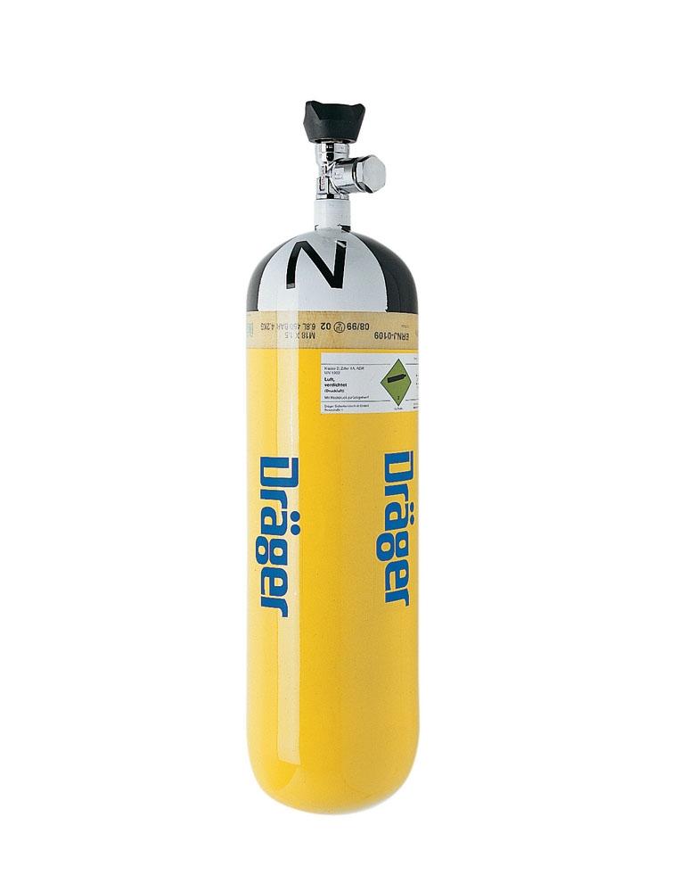 Druckluftflaschen 4,0 L/200 bar Stahl