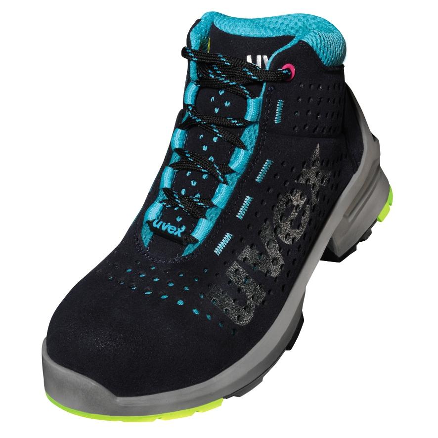 ESD uvex 1 ladies - 8563 - Stiefel - EN ISO 20345:2011 - S1 - SRC - W11