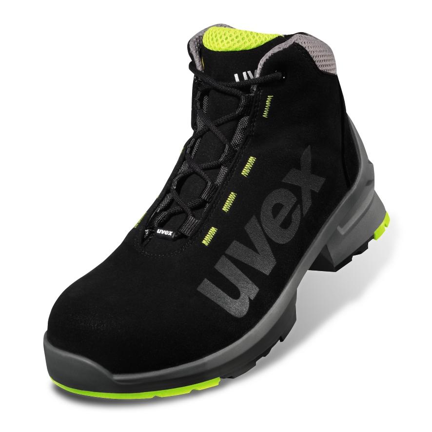 ESD uvex 1 - 8545 - Stiefel - EN ISO 20345:2011 - S2 - SRC - W14