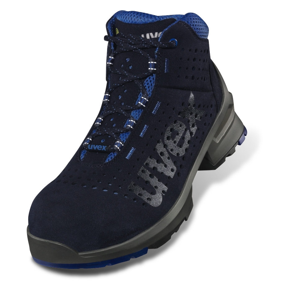 ESD uvex 1 - 8532 - Stiefel - EN ISO 20345:2011 - S1 - SRC - W14