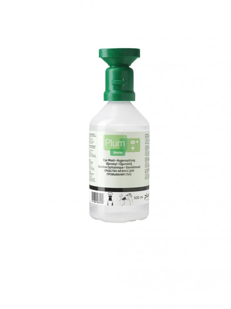 Augenspülflasche mit Natriumchloridlösung