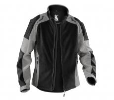 Windschutz Fleece-Softshell Jacke