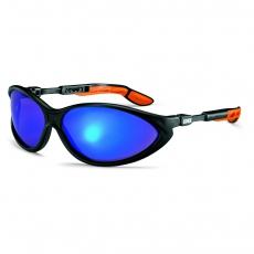 uvex cybric 9188 Schutzbrille: verspiegelt blau