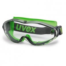 uvex ultrasonic Vollsichtbrille: kratzfest, beschlagfrei
