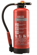 Gloria - PRO-LINE - PH 6 PRO - Pulver-Aufladefeuerlöscher mit Wandhalter - DIN EN 3, GS, CE, MED