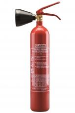 Gloria - KS 2 ST - CO² - Dauerdruckfeuerlöscher mit Handhebel-Armatur - DIN EN 3, GS, CE, MED