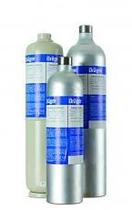 Mischgasflasche Kohlenstoffmonoxid CO, Kohlenstoffdioxid C02, Methan CH4, Sauerstoff O2 /N2